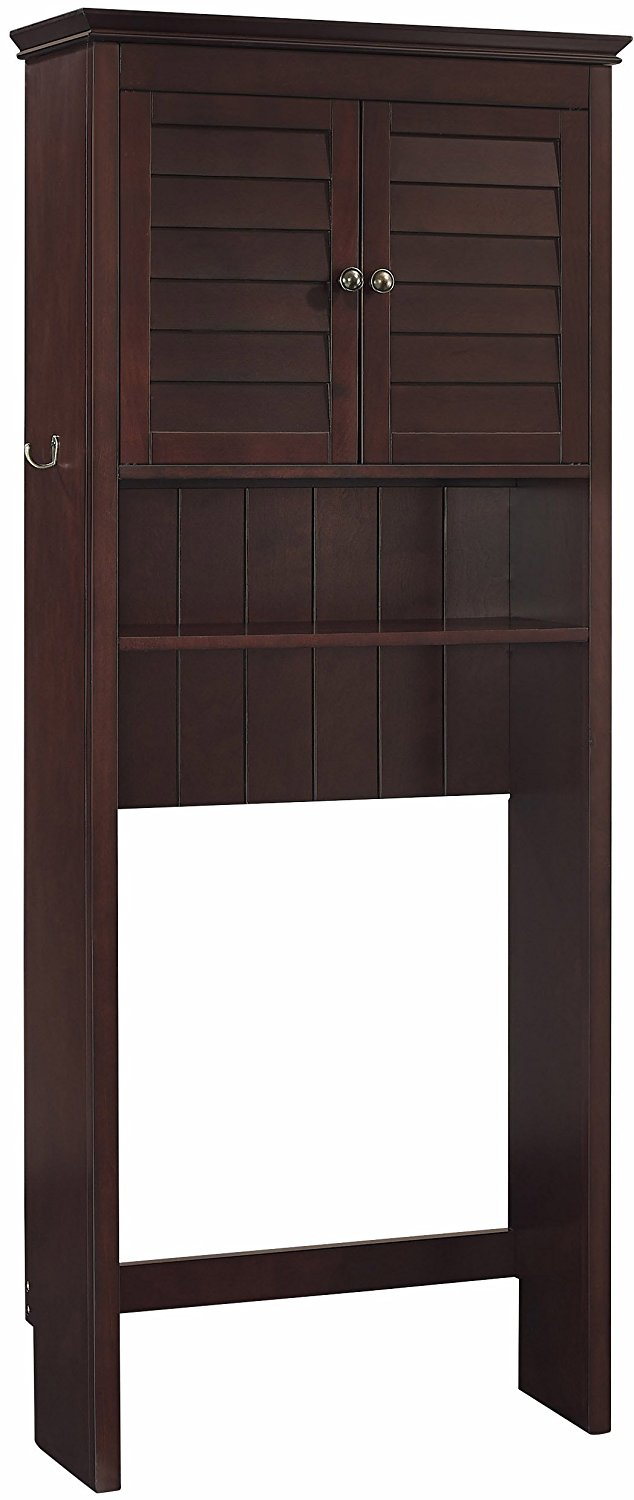 Crosley Furniture Lydia Space Saver Bathroom Cabinet