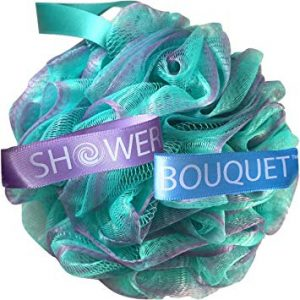 Beauty Bathing With Sponge Swirl Shower Bouquet