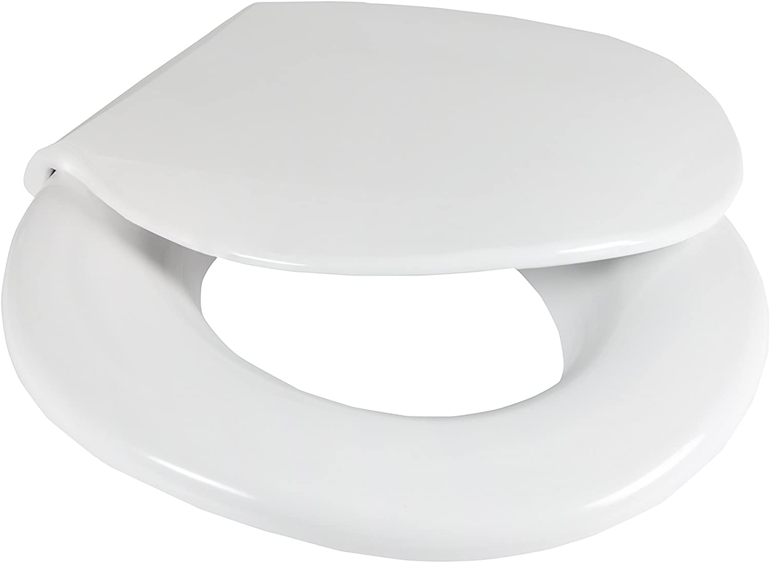 Big John Toilet Seat 2445646-1W Closed Front