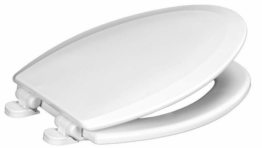 Centoco 900SC-301 Elongated Wooden Toilet Seat