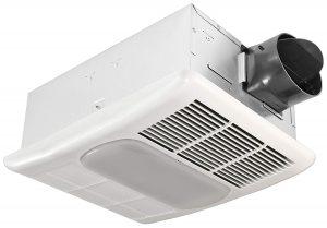 Delta Breez Radiance RAD80L 80 CFM Exhaust Bath Fan Heater
