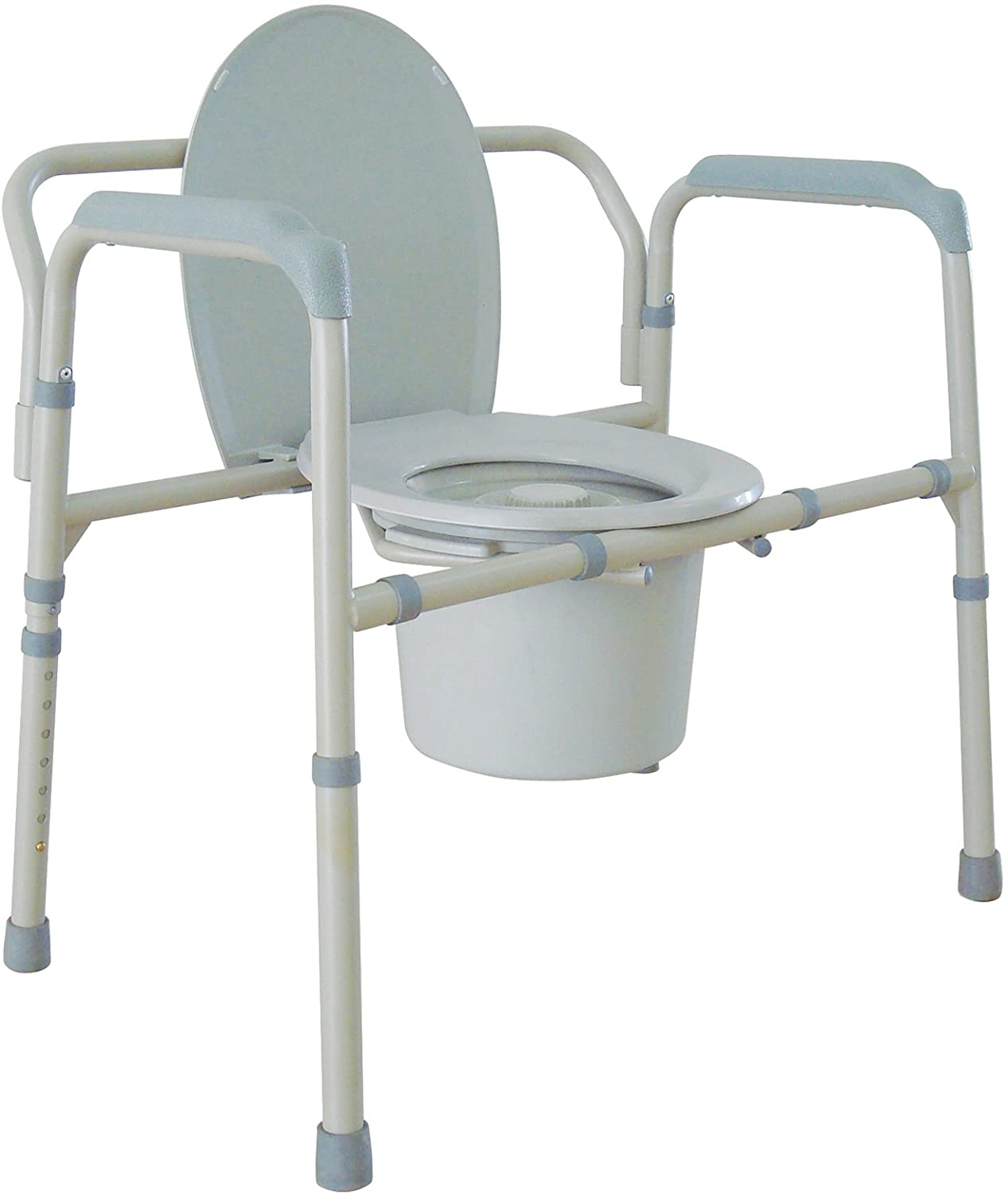Drive Medical Heavy Duty Bariatric Folding Commode