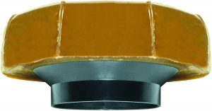 Fluidmaster 7513 Extra Thick Wax Toilet Bowl Gasket