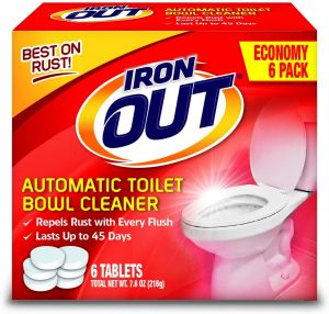 Iron OUT Automatic Toilet Bowl Cleaner