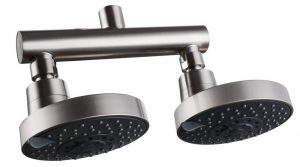 KES Shower Head Double Outlet Manifold