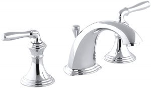KOHLER Devonshire K-394-4-CP 2-Handle Widespread