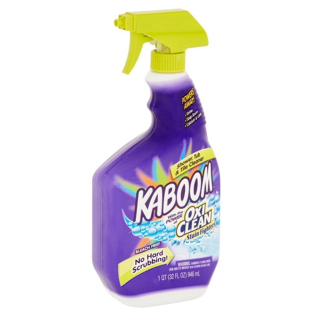 Kaboom Shower, Tub & Tile Cleaner with Oxi Clean 32- Ounces