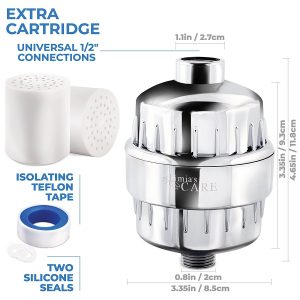 Limia's Care 10-Stage Shower Filter