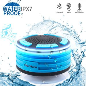 Mix Hero Wireless Waterproof Bluetooth Speaker Shower Radio