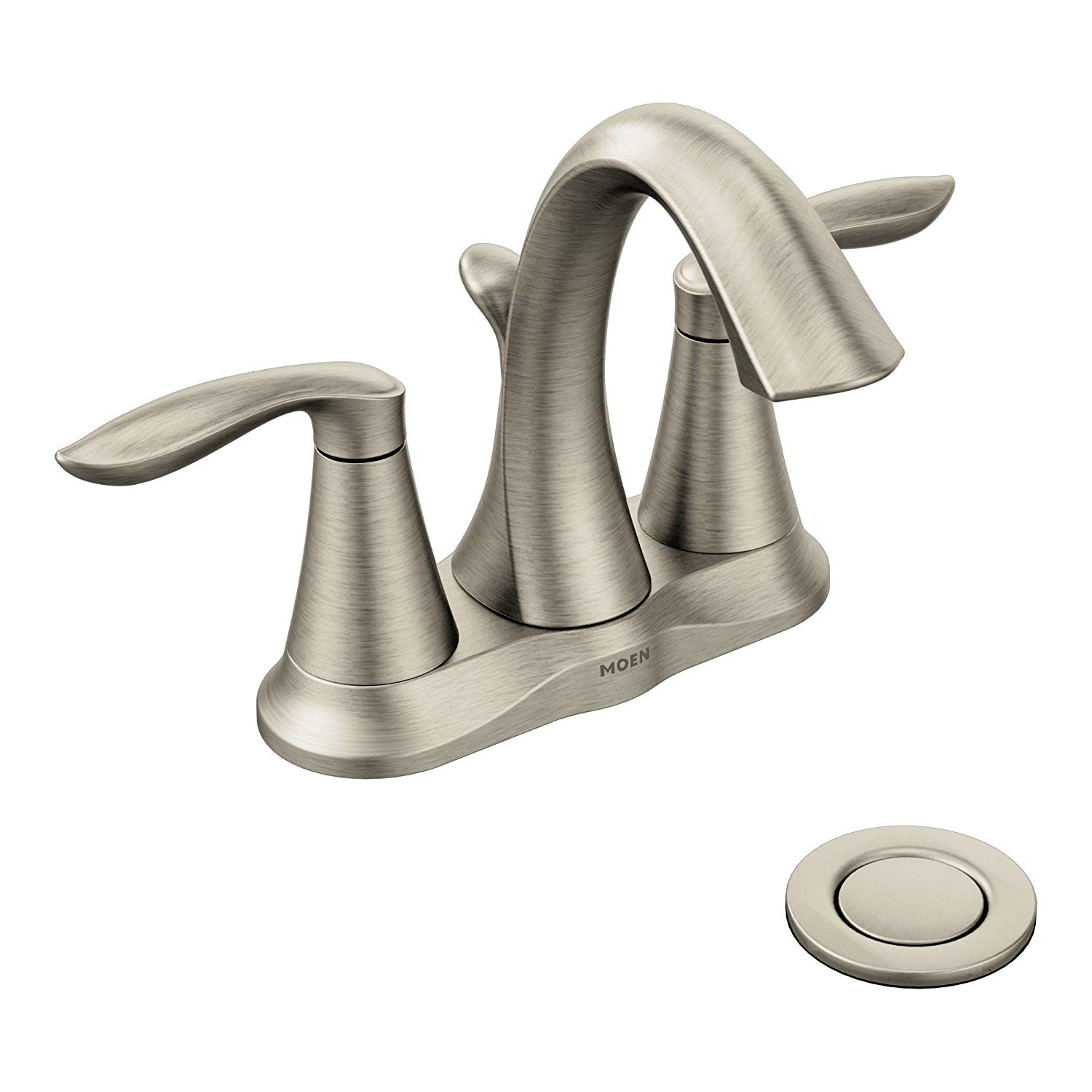 Moen Eva Two-Handle Centerset Bathroom Faucet