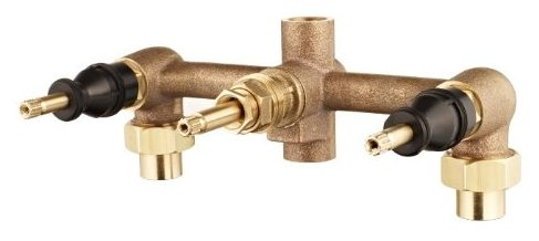 Pfister 00131XA 3-Handle Tub & Shower Rough-In Valve