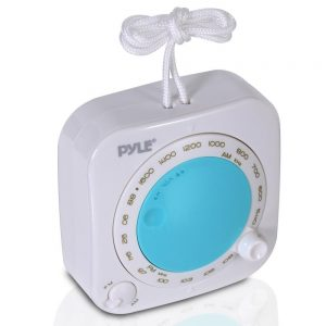 Pyle Shower Radio Waterproof Portable Speakers