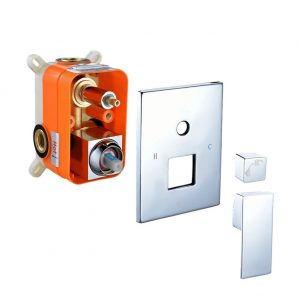 SR SUN RISE Square Manual Bathroom Shower Mixer Valve