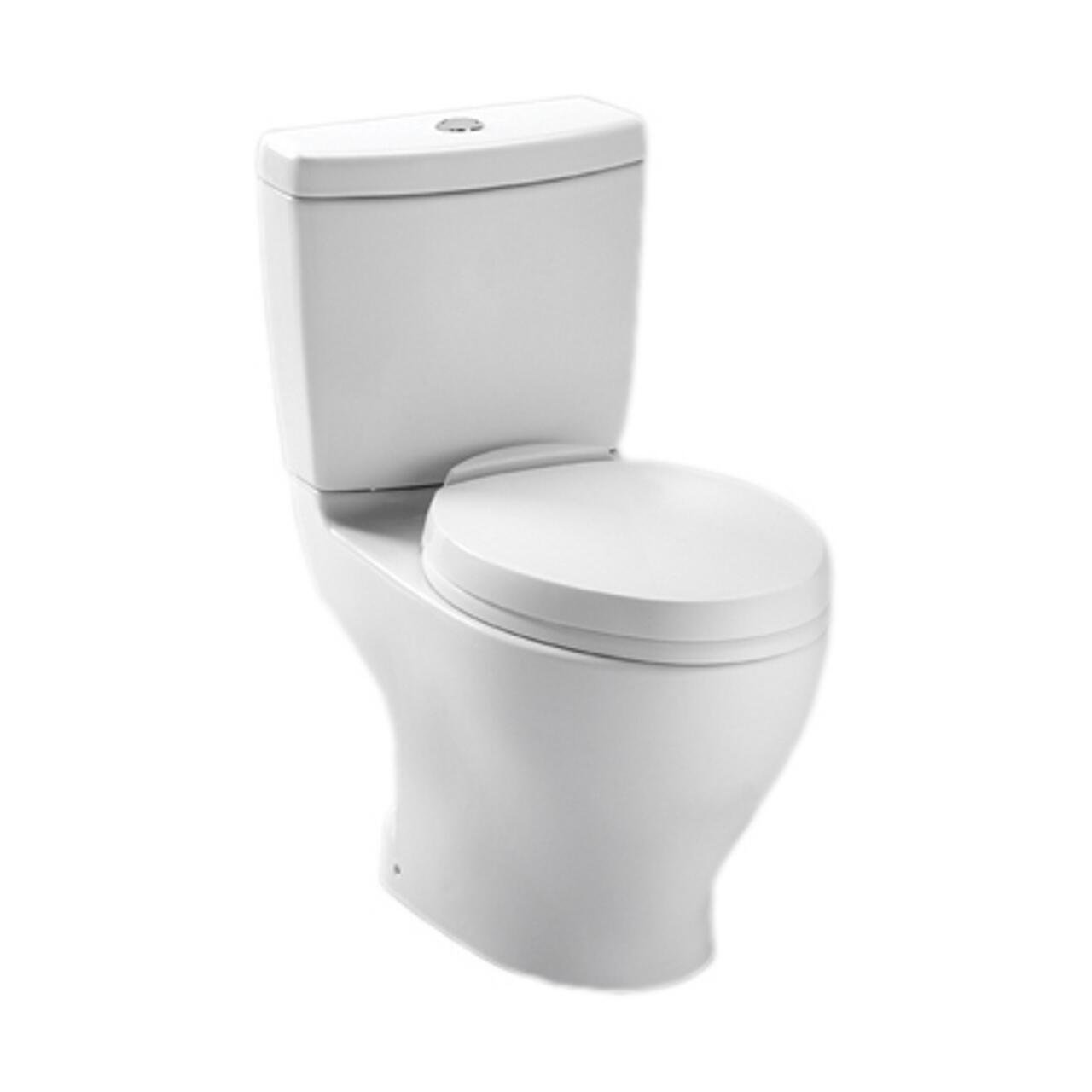 TOTO CST412MF.10No.O1 Aquia Dual Flush Toilet Cotton White