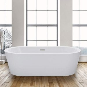 "WOODBRIDGE 67"" Acrylic Freestanding Bathtub"