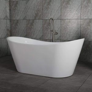 "WOODBRIDGE BTA-1515 67"" Acrylic Freestanding Bathtub"
