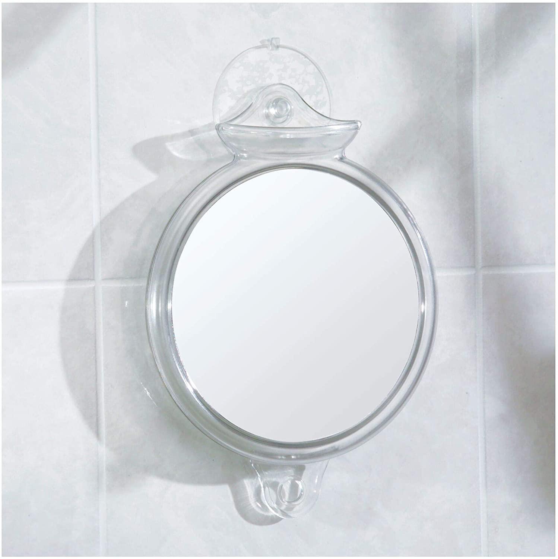 iDesign Fog-Free Suction Shower Shaving Mirror